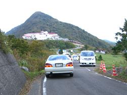 観光シーズンの天狗高原