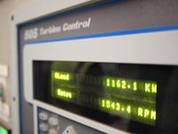 発電出力モニター。1162.1KWを表示している