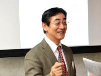 講師:日本オーガニック推進協議会の理事長、山崎泉氏