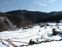 梼原の雪景色